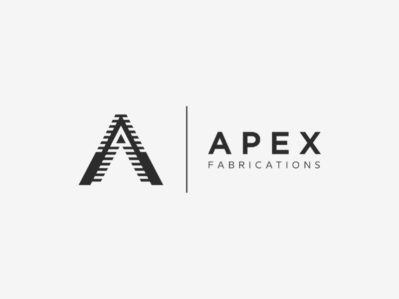 Apex Fabrication Logo logopassion logoinspirations logodesigner logodesign logo illustrator graphicdesign eagle designinspirations brandmark adobe