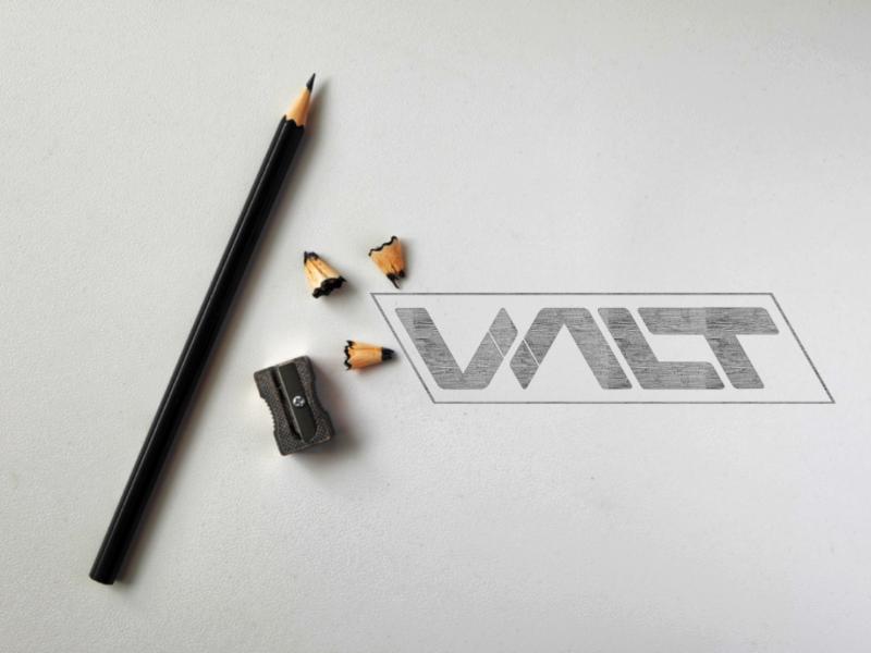 Valt Securities Logo Concept logopassion logoinspirations logodesigner logodesign logo graphicdesign designinspirations wordmark adobe logotype customtypeface rhombus