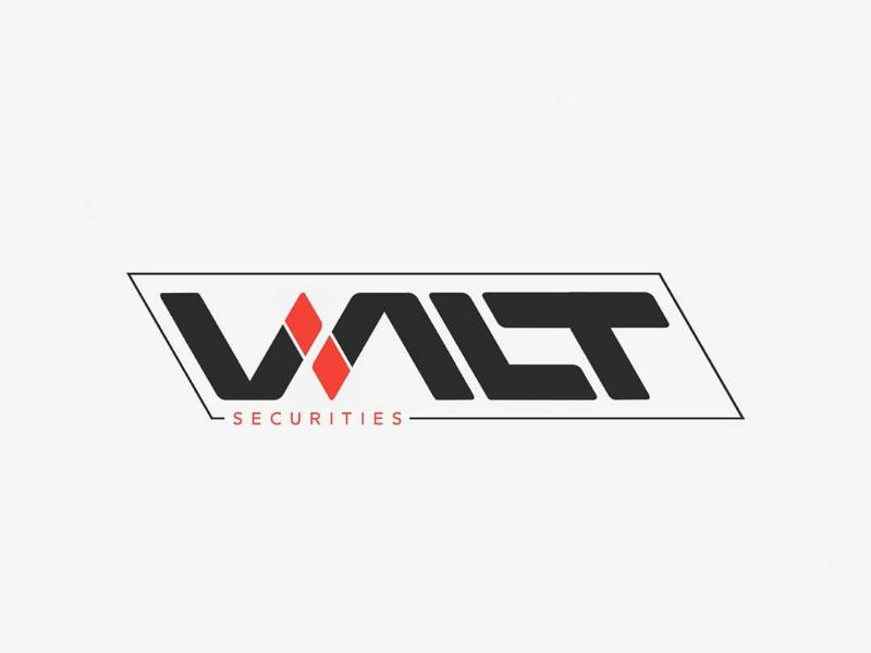 Valt Securities Logo logopassion logoinspirations logodesigner logodesign logo graphicdesign designinspirations lettermark adobe logotype customtypeface rhombus