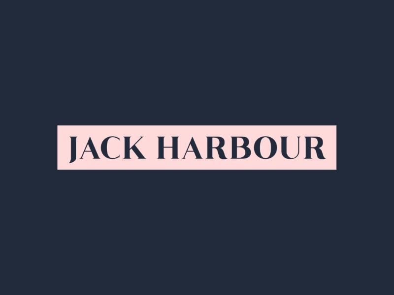 Jack Harbour Clothing Brand monogram luxurious logotype logomark logoinspirations logo lifestyle jewellerydesign designinspirations