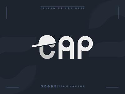 Cap Logo Design Concept | Team Hactor logo story conceptual logo brand identity logotype logodesign logomark print technology logos logo mark logo designer logo animation logo design branding team hactor cap design cap logo logo concept ui teamhactor branding