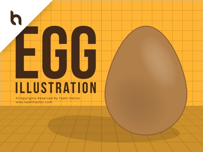 Simple Egg Illustration by Team Hactor cute chicken creative food perspective egg element art teamhactor team hactor landscape illustration landscape adobe illustrator adobe photoshop illustrator texture glow glowing aesthetic illustration mood