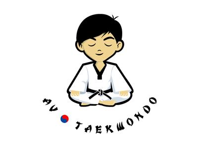 AV Taekwondo Logo Design