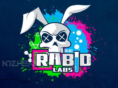 Rabbit skull Logotype