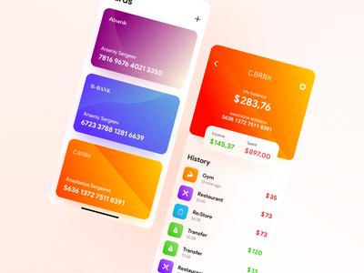 Bank App - UI Concept