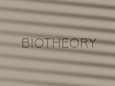 BIOTHEORY package design brandidentity graphic design cosmetics design beauty dropper box design packagedesign branding brand packaging