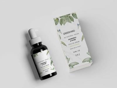 face oil serum