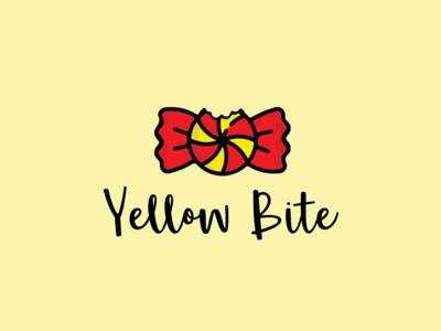 Yellow Bite Logo Design