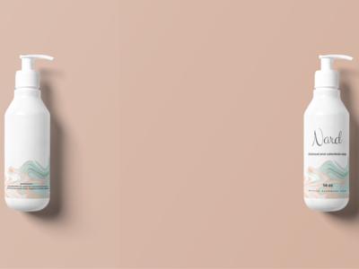 N A R D Soap Bottle