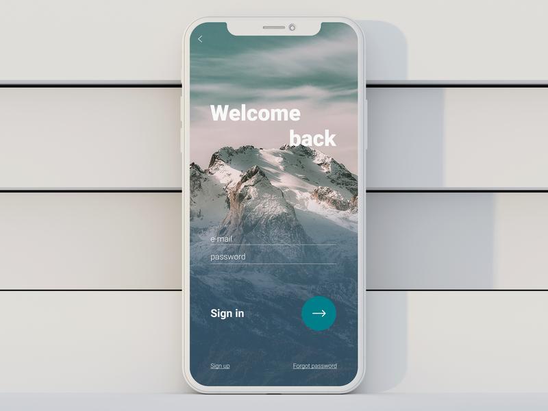 #DailyUI 001 - Sign in app feedback challenge sign up веб-дизайн dailyui web ui design