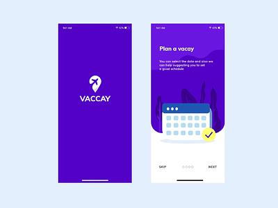 Plan a vacay vaccay uidesign travelapp ui