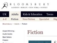 "Fiction ""landing page"""