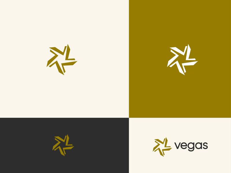 Vegas Logo Design. minimalist logo mark logotype letter v letter modern creative concept branding typography icon vector branding design brand identity logo graphic design design flat logo design