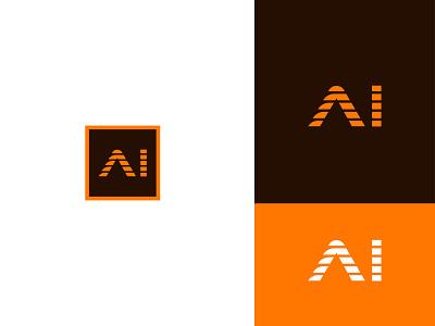 Re-Design | Adobe Illustrator CC icon 2d brand logo print ai adobe illustrator cc redesign concept modern vector brand identity typography branding design logo design graphic design flat logo branding design