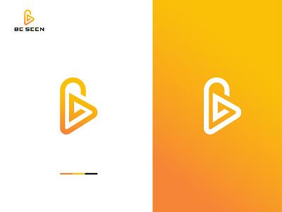 Bessen Modern Logo Design gradient modern brand design logotype palyer music b b letter logo letter logo logo mark graphic design brand identity icon concept logo flat vector logo design design branding