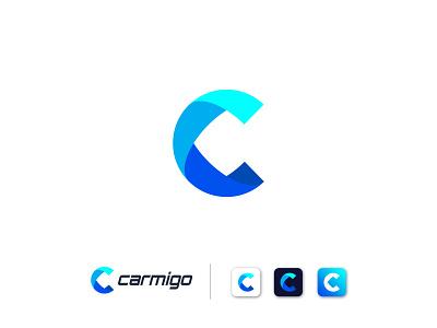 C Letter Modern Logo design company logo blue logo minimal minimalist logo c logo concept concept modern logo logo type logo mark c logo design c letter letter logo letter logo design design logo vector flat brand identity branding