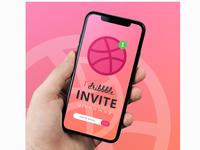 Dribbble, 1 Invite