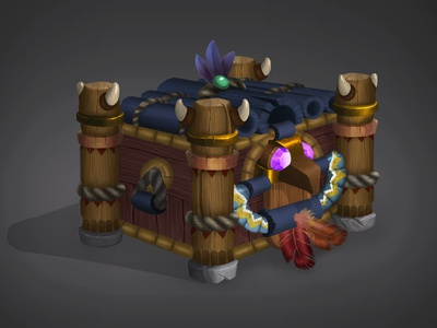 Fantasy Chest Design