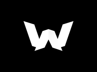 W - 36DOT07 36daysoftype07 icon branding vector logo design logo design