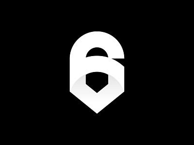 6 - 36DOT07 36daysoftype07 icon branding vector logo design logo design