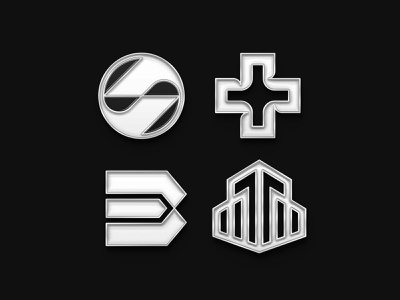 LOGOS ENAMEL PINS minimal flat logo design logo icon branding vector design