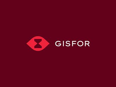 GISFOR LOGO DESIGN minimal flat logo design logo icon branding vector design