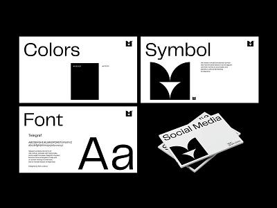 S/M PORTFOLIO art direction layout graphic design editorial design design flat minimal branding