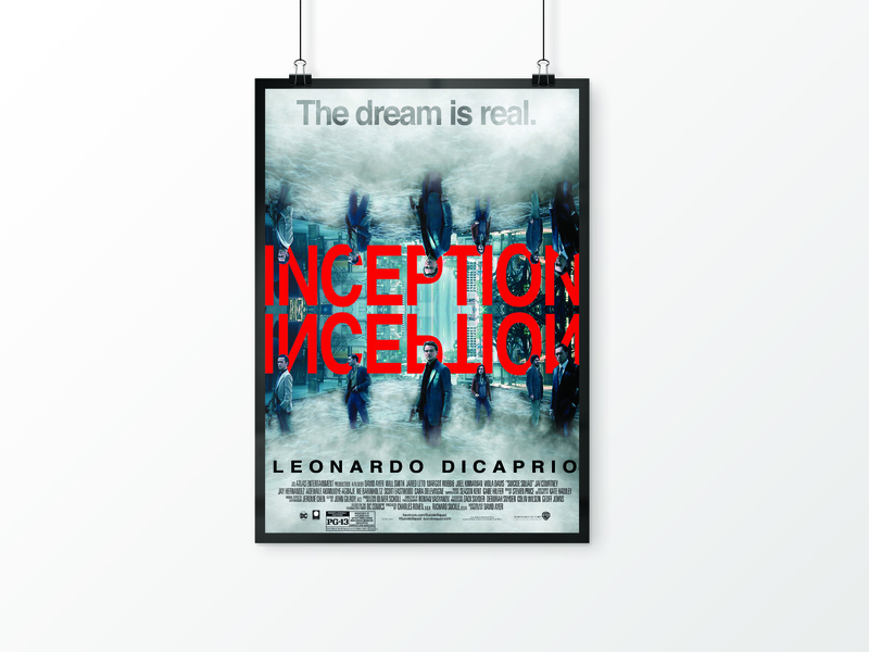 A Movie Poster inception photoshop poster movie
