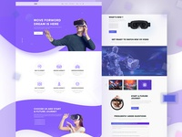 VR Landing Page