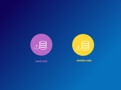 Coin Icon design chat app ui template icon chat