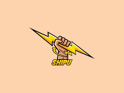 shipu logo design minimal art typo ios icon branding logo design brand and identity logo minimalist minimal