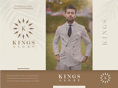 kings glory branding logo design branding minimalist logo design typo icon branding logo design logo minimalist minimal brand and identity