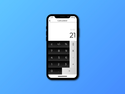 Calculator Ui Design