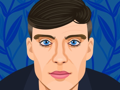 Cillian Murphy digital art editorial childrens books graphic art illustrator editorial illustration nicole wilson illustration