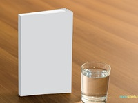 Free book cover mockup 3