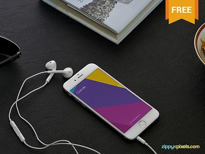 5 Free iPhone 6 Mockups free freebie mockup mockups mock up mock-up psd iphone iphone6 apple