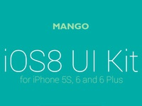 Mango presentation for behance