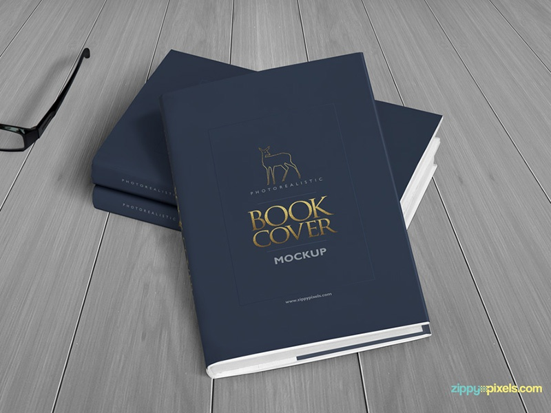 Realistic Hardcover Book Mockup - Vol 3 hardcover ebook psd cover book mock-up mock up mockups mockup