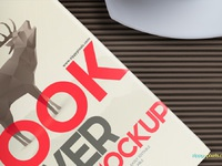 3 - Free Book Mockup - Hardcover Book Edition