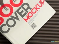 6 - Free Book Mockup - Hardcover Book Edition