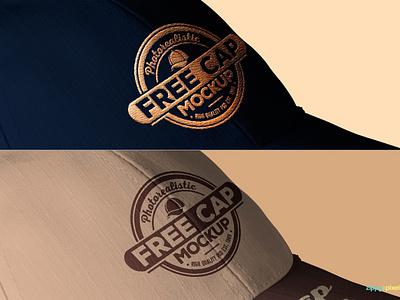 Free Baseball Cap Mockup apparel screenprint embroidered logo branding psd baseball cap freebie free mock-up mocks mockup