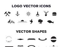 Free Vintage Logo Kit 15 Vector Templates By ZippyPixels