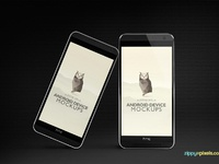 image 2 - 2 Free Android Device Mockups – HTC ONE M8