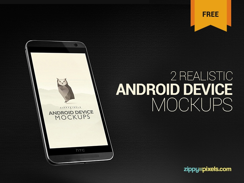 2 Free Android Device Mockups – HTC ONE M8 smartphone mockup mobile mockup website design app design android device android mockup htc m8 htc one psd mockup freebie free