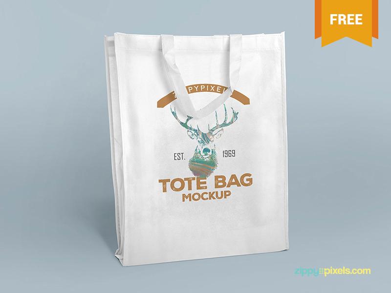 2 Free PSD Tote Bag Mockups logo design shopping bag branding mockup branding tote tote bag mockup bag psd mockups mockup freebie free