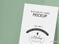 image 3 - Free Business Card Mockup