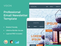 Vision – Professional Email Template