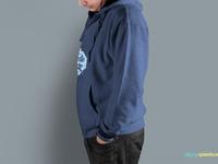 image 2 - Men's Free Hoodie Mockup