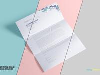 image 5 - Free US Letter Paper Mockup