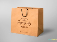 image 1 - Free Shopping Bag Mockup